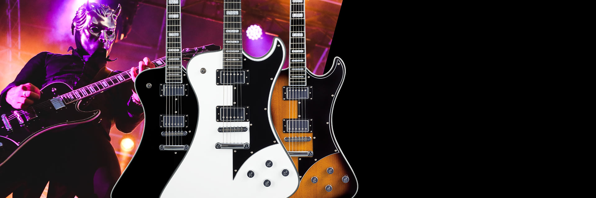 Hagstrom Fantomen on tour with Ghost