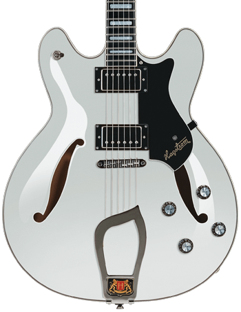 Hagstrom Viking deluxe hero white gloss
