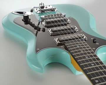 Retroscape H-II by Hagstrom Guitars of Sweden on