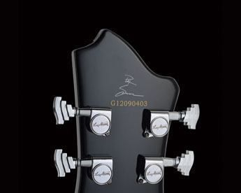 Hagstrom Pat Smear Headstock with Signature