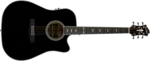 Hagstrom Siljan Dreadnought CE Black