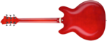 Hagstrom Super Viking Wild Cherry transparent back
