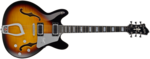 Hagstrom Super Viking Tobacco Sunburst front