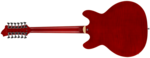 Hagstrom Viking 12 String Deluxe Wild Cherry transparent back