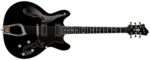 Hagstrom Viking Black Gloss