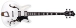 Hagstrom Viking Bass white gloss - front